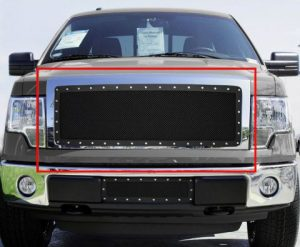 2009-2014 F150 Front Grilles
